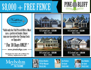 Fantastic Spring Incentive on four unbelievable homes!