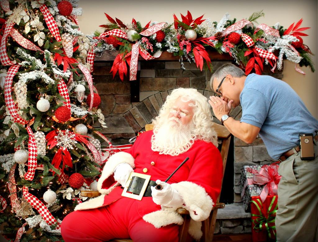 Bart & Santa